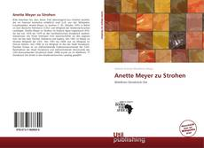 Bookcover of Anette Meyer zu Strohen