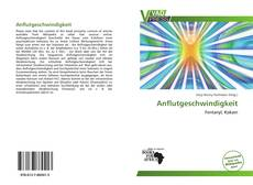Buchcover von Anflutgeschwindigkeit