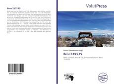 Portada del libro de Benz 33/75 PS