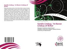 Buchcover von Sandie Lindsay, 1st Baron Lindsay of Birker