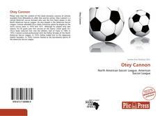 Otey Cannon的封面