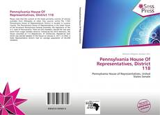 Bookcover of Pennsylvania House Of Representatives, District 118
