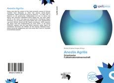 Portada del libro de Anestis Agritis