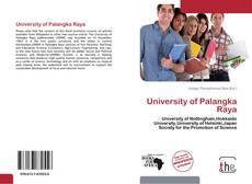 Bookcover of University of Palangka Raya