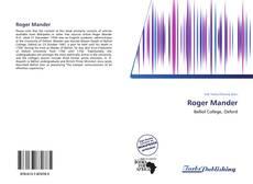 Bookcover of Roger Mander