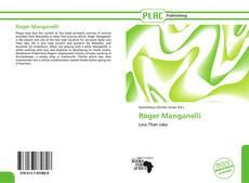 Capa do livro de Roger Manganelli