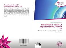 Bookcover of Pennsylvania House Of Representatives, District 109