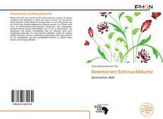 Buchcover von Anemonen-Schmuckblume