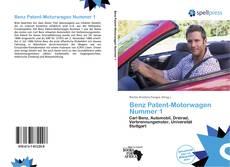 Bookcover of Benz Patent-Motorwagen Nummer 1