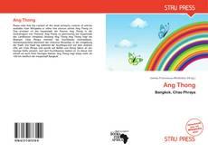 Portada del libro de Ang Thong