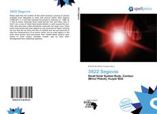 Portada del libro de 3822 Segovia
