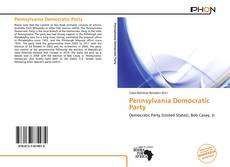 Pennsylvania Democratic Party kitap kapağı