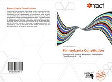Pennsylvania Constitution的封面