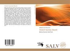 Buchcover von Violent Society (Band)