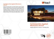 Capa do livro de Ted Belytschko Applied Mechanics Award