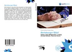 Bookcover of Berleburger Bibel