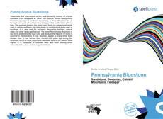 Portada del libro de Pennsylvania Bluestone