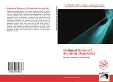 Borítókép a  National Union of Students (Australia) - hoz