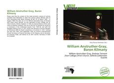 Couverture de William Anstruther-Gray, Baron Kilmany
