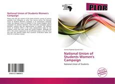 Borítókép a  National Union of Students Women's Campaign - hoz