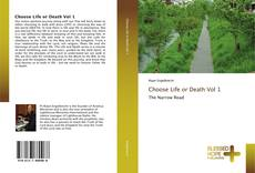 Capa do livro de Choose Life or Death Vol 1