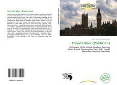 Capa do livro de David Faber (Politician)