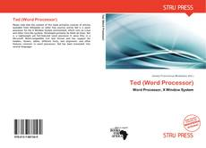 Bookcover of Ted (Word Processor)
