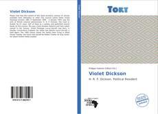 Capa do livro de Violet Dickson