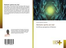 Bookcover of Demonic spirits are real
