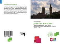 Portada del libro de Peter Rees, Baron Rees