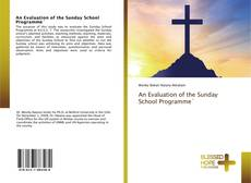 Bookcover of An Evaluation of the Sunday School Programme`