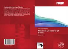 Bookcover of National University of Benin