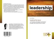 Buchcover von Leading like Jesus