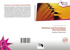 Bookcover of National and Providence Worsted Mills