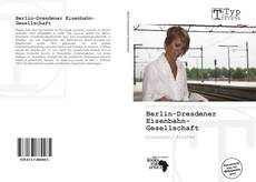 Berlin-Dresdener Eisenbahn-Gesellschaft kitap kapağı