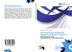 Bookcover of Pennsylvania House Of Representatives, District 7