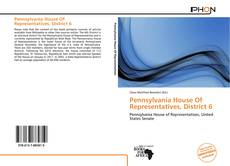 Bookcover of Pennsylvania House Of Representatives, District 6