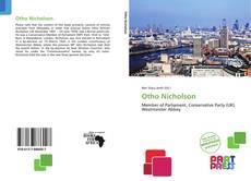 Otho Nicholson kitap kapağı