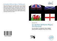 Bookcover of Sir Watkin Williams-Wynn, 3rd Baronet