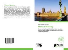 Обложка Marcus Worsley