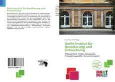 Bookcover of Berlin-Institut für Bevölkerung und Entwicklung