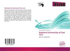 Portada del libro de National University of San Luis