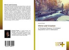 Bookcover of Christ and Creation