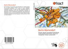 Berlin-Mariendorf kitap kapağı