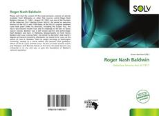 Bookcover of Roger Nash Baldwin