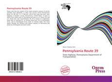 Bookcover of Pennsylvania Route 39