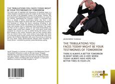 Buchcover von THE TRIBULATIONS YOU FACES TODAY MIGHT BE YOUR TESTIMONIES OF TOMORROW