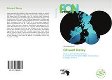 Bookcover of Edward Davey