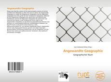 Buchcover von Angewandte Geographie