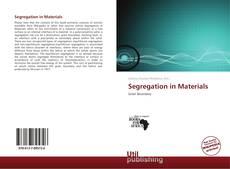 Обложка Segregation in Materials
